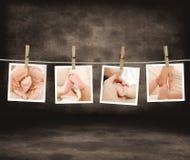 влюбленность младенца альбома Стоковые Фотографии RF
