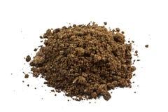 土壤堆  免版税库存照片