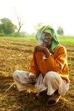 印第安农夫 免版税图库摄影