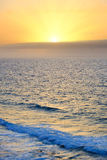 在大西洋的日出 免版税图库摄影