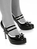 ботинки ног сексуальные Стоковые Фотографии RF