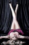 длиной тонизированные ноги Стоковая Фотография RF