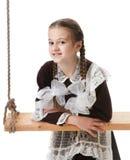 νεολαίες στούντιο κοριτσιών Στοκ Φωτογραφία