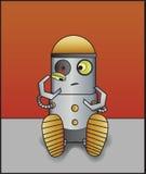 残破的机器人 免版税库存图片