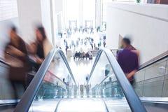 电梯乘客 免版税库存图片