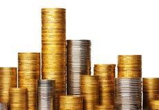 στοίβα νομισμάτων Στοκ φωτογραφία με δικαίωμα ελεύθερης χρήσης