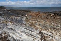 澳洲海角国家公园岩石塔斯马尼亚岛 库存图片