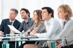 企业介绍 免版税库存图片