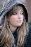 κορίτσι λυπημένο Στοκ Εικόνα