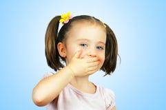 Портрет маленького милого младенца Стоковое фото RF