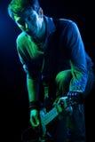 басовый игрок Стоковые Фото