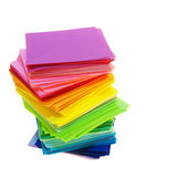 上色纸多种 免版税库存照片