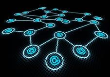 δίκτυο έννοιας Στοκ εικόνες με δικαίωμα ελεύθερης χρήσης