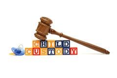 儿童监护权 免版税库存照片