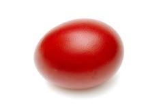 красный цвет пасхального яйца Стоковая Фотография RF