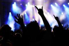 βράχος συναυλίας Στοκ Εικόνες