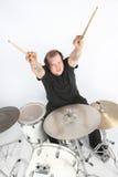 утес барабанщика тяжелый Стоковые Фото