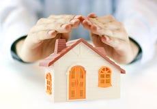 房子保险 免版税库存图片