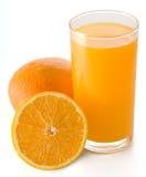 πορτοκάλι χυμού Στοκ Εικόνες