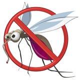 动画片蚊子终止 库存图片