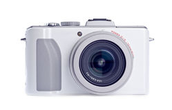 照相机数字式孤立射击白色 图库摄影