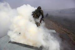 军队训练 免版税图库摄影