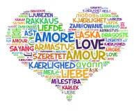 Сердце влюбленности Стоковые Изображения