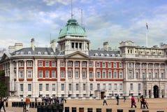 英国守卫马伦敦游行 图库摄影