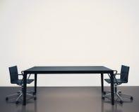 现代内部办公室 免版税库存图片