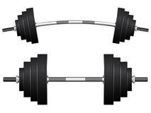 Весы против белизны Стоковое фото RF