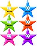 Αστέρια Στοκ εικόνες με δικαίωμα ελεύθερης χρήσης