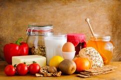 Υγιή τρόφιμα Στοκ φωτογραφία με δικαίωμα ελεύθερης χρήσης