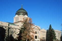 蒙大拿的状态国会大厦, 图库摄影