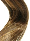 волна волос глянцеватая Стоковая Фотография RF