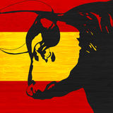 испанский язык быка Стоковое фото RF