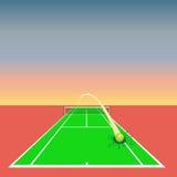设计要素网球 免版税库存图片