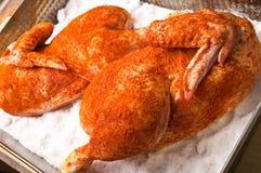 ψημένο άλας κοτόπουλου Στοκ Εικόνα