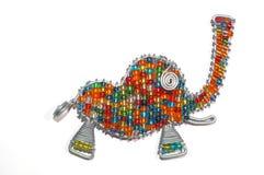 五颜六色的大象 免版税库存图片