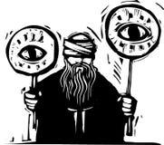 眼睛符号 免版税库存图片