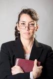 严厉的主日学教师 免版税库存照片