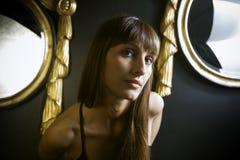 κορίτσι κομψό Στοκ εικόνα με δικαίωμα ελεύθερης χρήσης