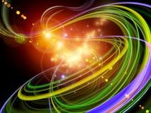 светлая вращаясь тропка Стоковое Изображение RF