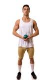 Спортсмен с съемкой Стоковые Фотографии RF