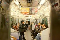 日本地铁 免版税库存照片