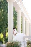 колонки невесты Стоковое Фото