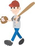 棒球孩子 免版税库存照片
