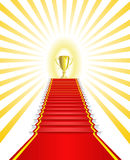 победитель золота чашки Стоковое Фото
