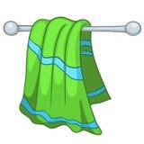 Полотенце кухни шаржа домашнее Стоковые Фото