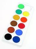 сортированная краска Стоковые Фото