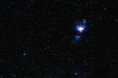 星云猎户星座 库存照片